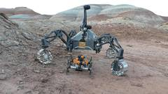 Field Trials Utah: Roboter-Team simuliert Marsmission in Utah